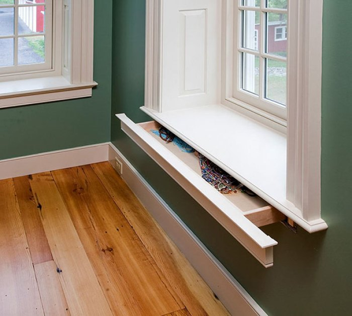 Secret Drawer In Window Sill