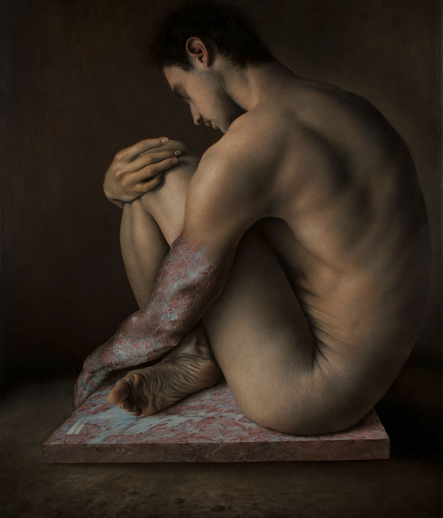 hyper realistic paintings marco grassi 3 5a37b5b337290  880 - This Artist Will Blow Your Mind Once You Realize These Are Not Photos At All
