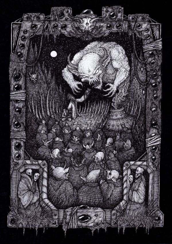 Draw Intricate Dark Fantasy Drawings Inspired