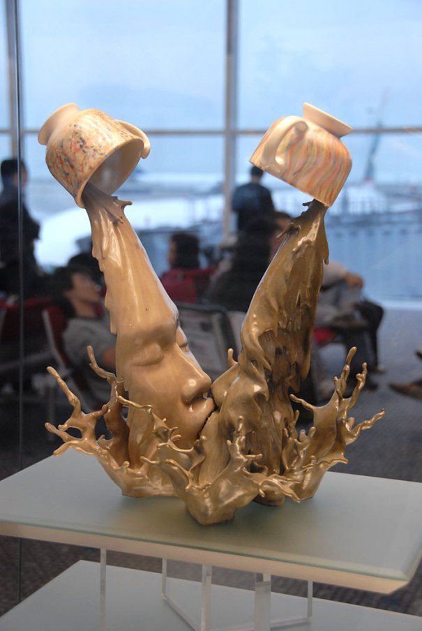 Coffee Kiss By Johnson Tsang