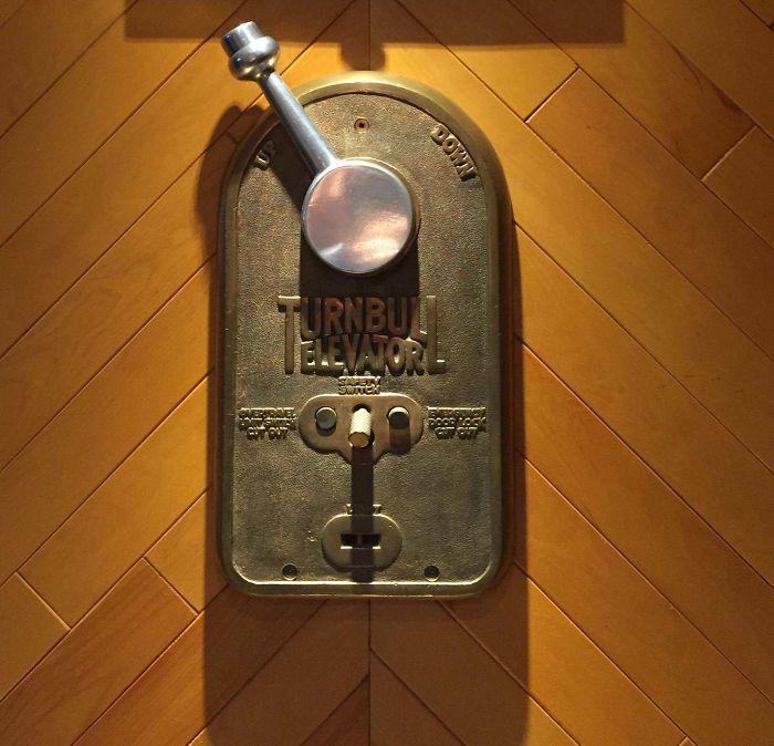 100-Year-Old Elevator Handle I Saved