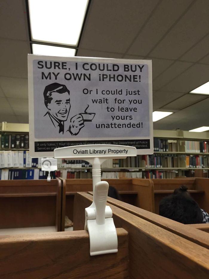 My Library PSA