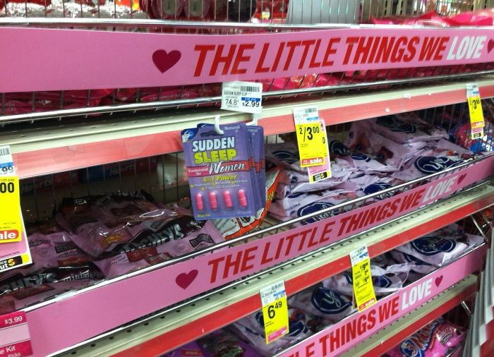 Are Those Date Rape Pills In The Valentines Section Cvs?
