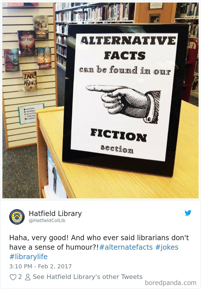 Who Ever Said Librarians Don't Have A Sense Of Humor?!