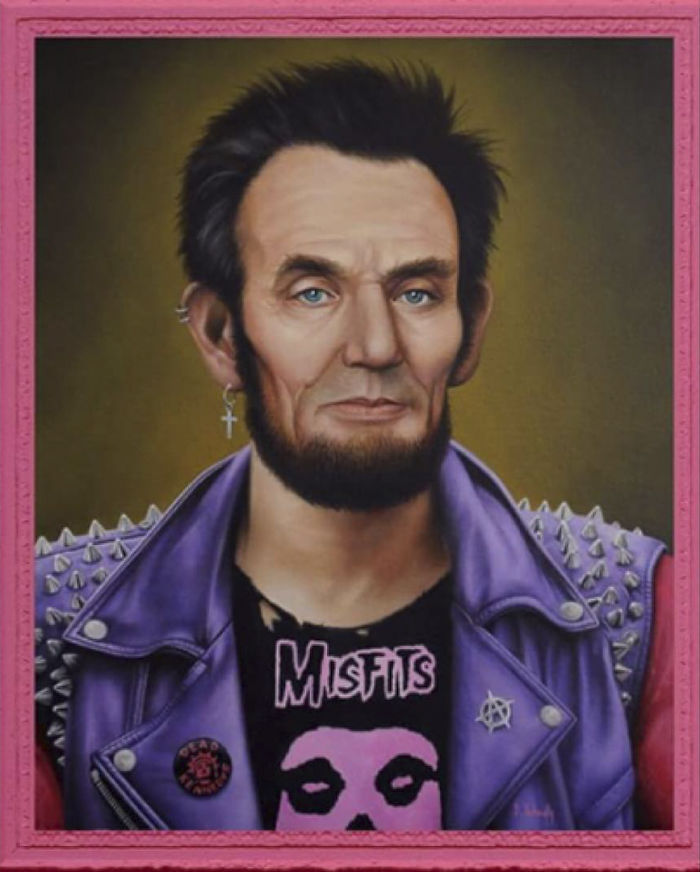 Artist Breaks The Traditional Masculinized Image Of Famous