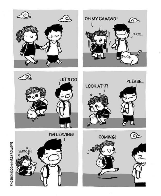 Little-wholesome-comics-about-everyday-life-5a7ab6841d540__700 35+ Little Wholesome Comics Inspired By My Relationship With My Boyfriend And My Daily Struggles Design Random