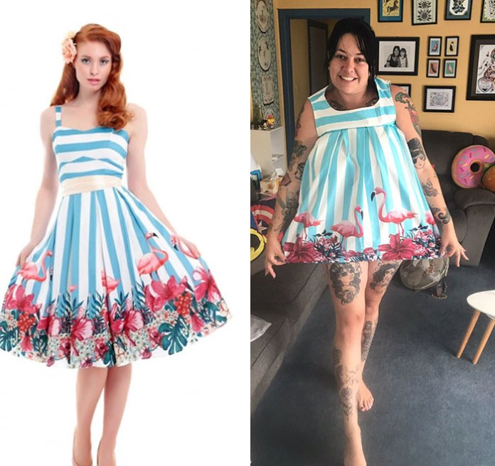 My Sister Ordered A Dress Online