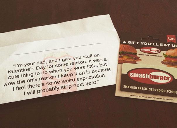 Valentine Gift From My Dad