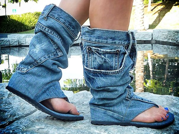 When You Need Your Pants On Your Feet