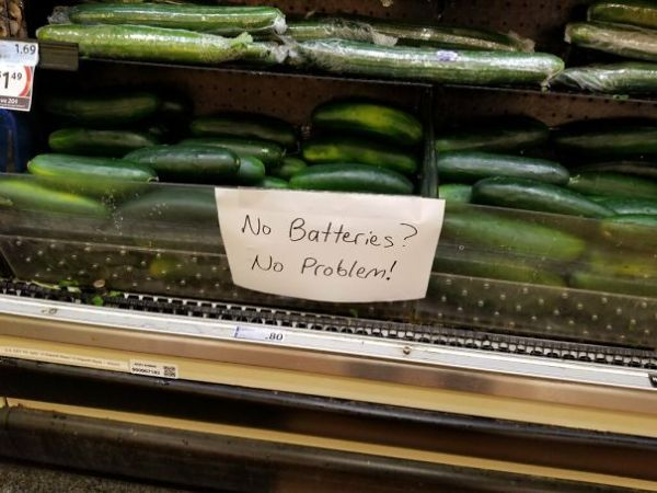 Found In A Florida Grocery Store. That's How You Sell Some Produce!