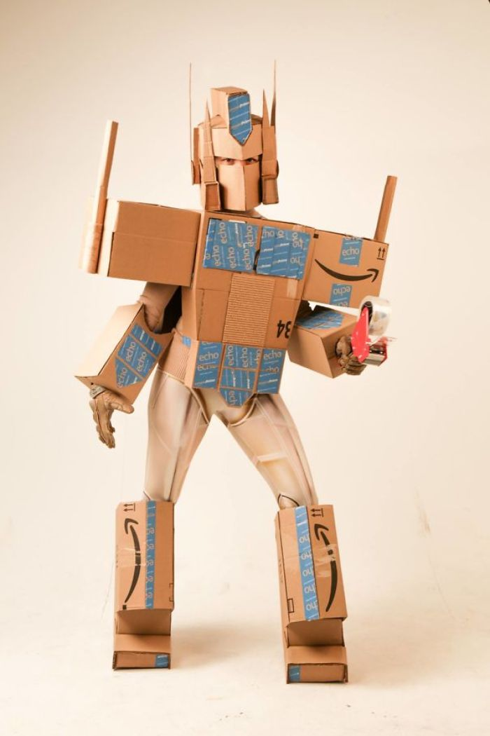 I Dressed As Amazon Prime And Won My Office Halloween Costume Contest