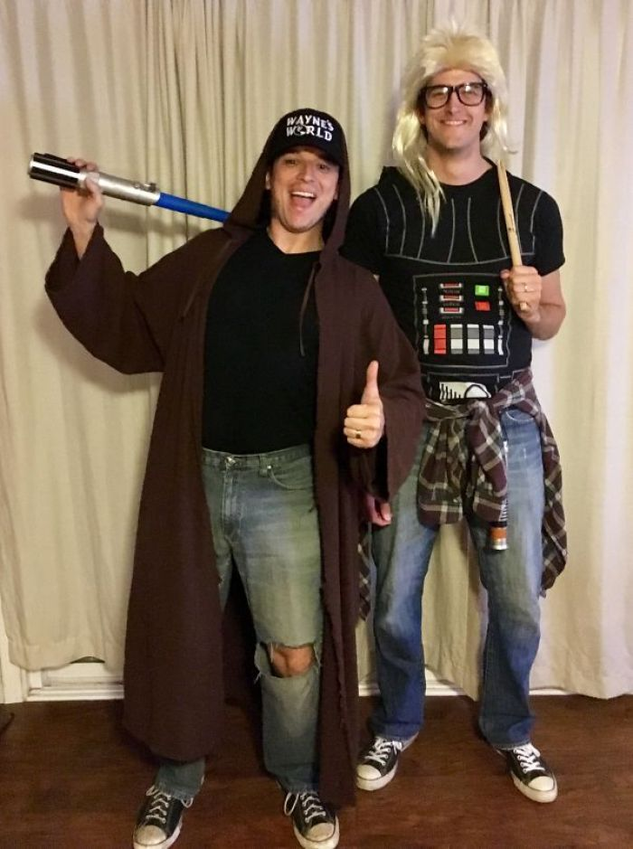 Garth Vader & Obi-Wayne Kenobi