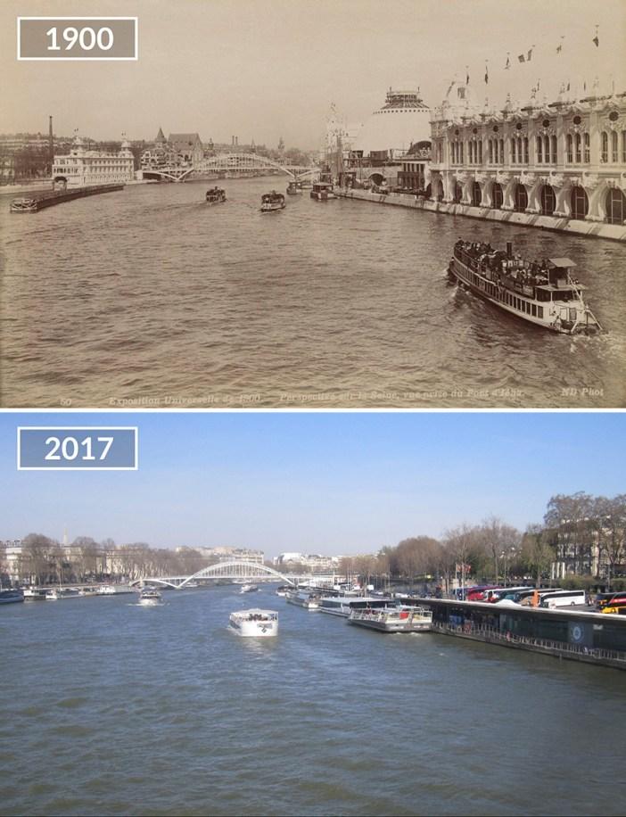 View On Seine From Pont D'iéna