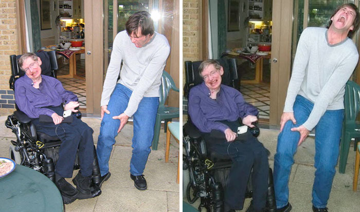 Image result for stephen hawking jim carrey