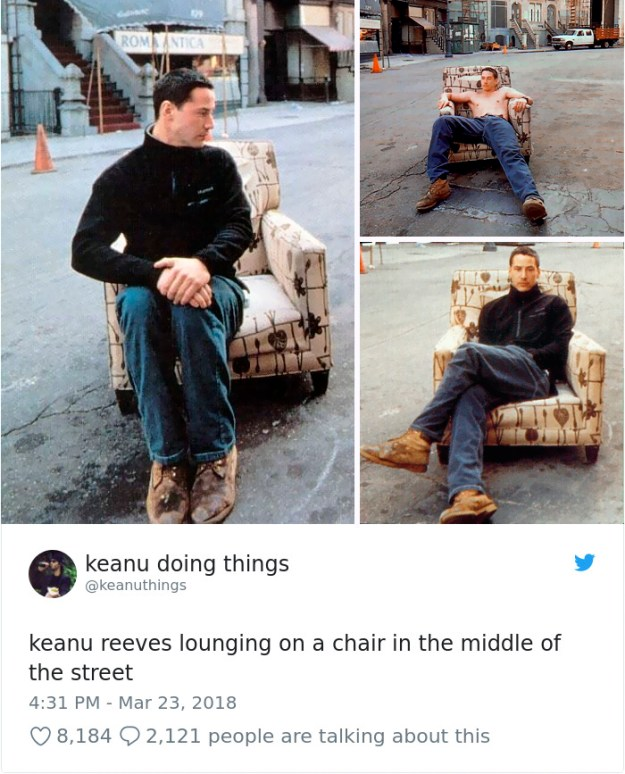 977221190304624640-1-png__700-5abc94a820e31__700 The Internet Can't Stop Laughing At Keanu Reeves Doing Things (26 Pics) Design Random