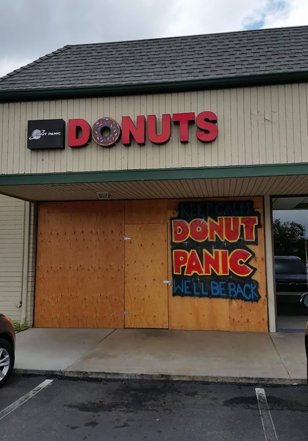 Donut Shop In My Area Is Doing Renovations