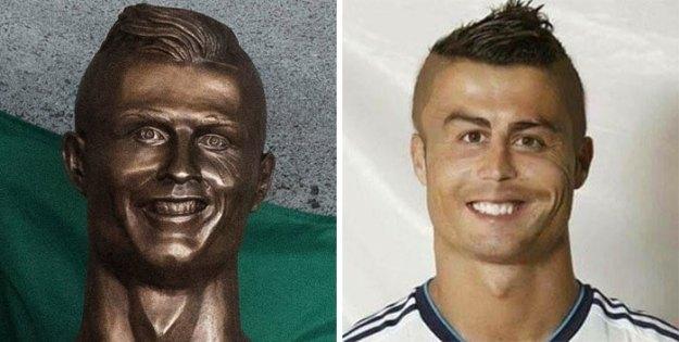 cristiano-ronaldo-new-bust-statue-emanuel-santos-14-5abdf7fcf2de6__700 Internet Laughed At This Guy's First Attempt At Cristiano Ronaldo's Bust, So He Tries The Second Time Art Design Random