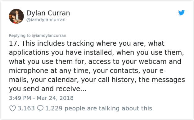 facebook-google-data-know-about-you-dylan-curran-18 The Internet Is In Shock After This Guy's Post Reveals How Much Facebook And Google Knows About You Design Random