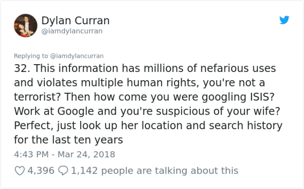 facebook-google-data-know-about-you-dylan-curran-33 The Internet Is In Shock After This Guy's Post Reveals How Much Facebook And Google Knows About You Design Random