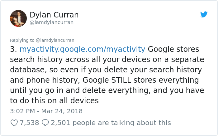 facebook-google-data-know-about-you-dylan-curran-4 The Internet Is In Shock After This Guy's Post Reveals How Much Facebook And Google Knows About You Design Random