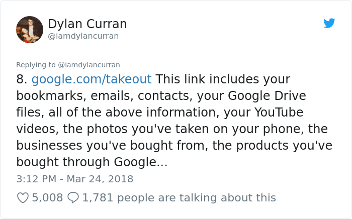 facebook-google-data-know-about-you-dylan-curran-9 The Internet Is In Shock After This Guy's Post Reveals How Much Facebook And Google Knows About You Design Random