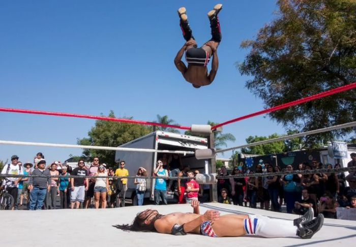 Backflip Submission, The American Experience Finalist
