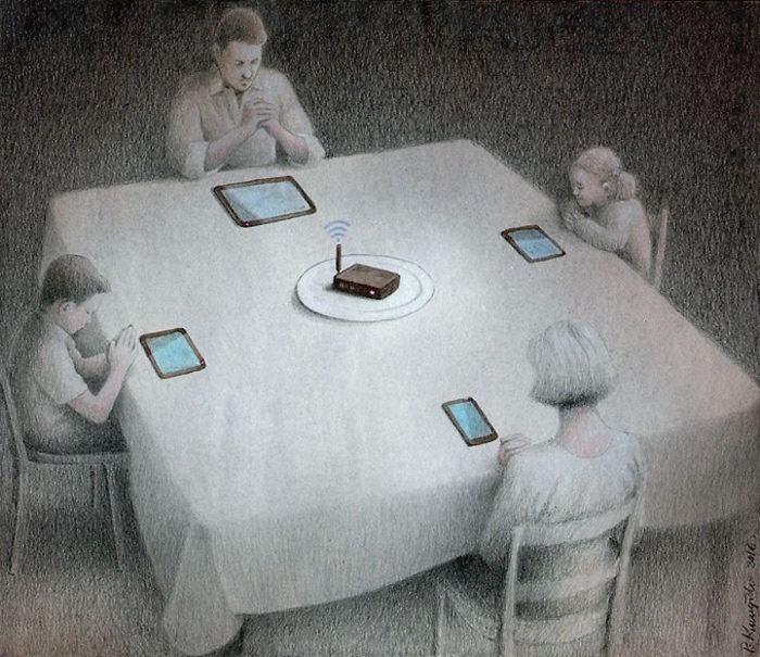 Satirical-Illustrations-Polish-Pawel-Kuczynski