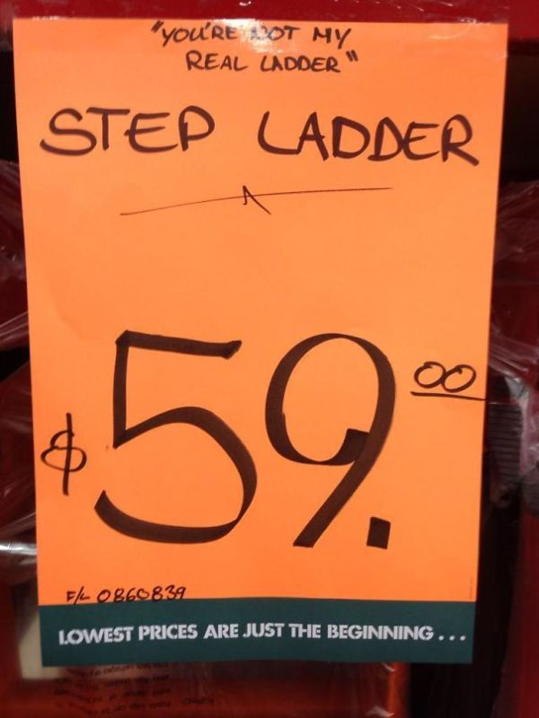 Local Hardware Store With A Sense Of Humour