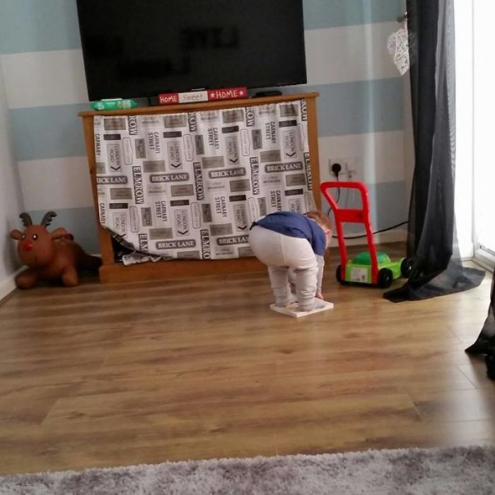 My Friend's Son Struggling To Pick Up A Book