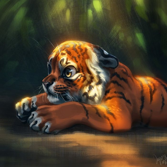 Active Iphone X Wallpaper Fantasy Animal Paintings That Show The Real Magic In The