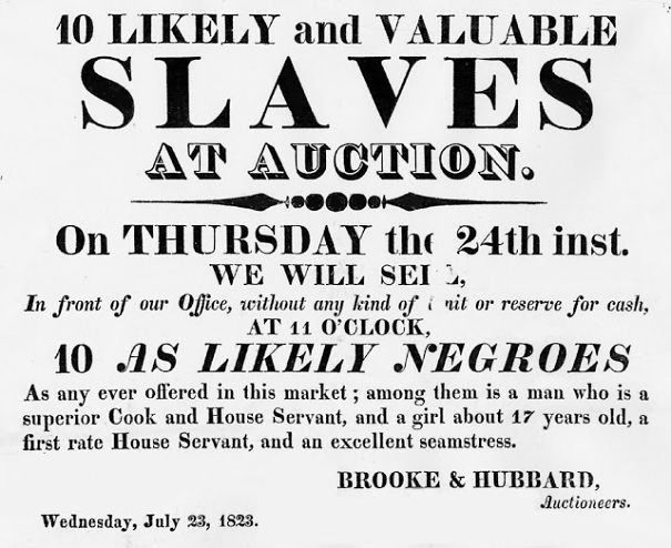 These 22 Unbelievable Ads For American Slaves From The