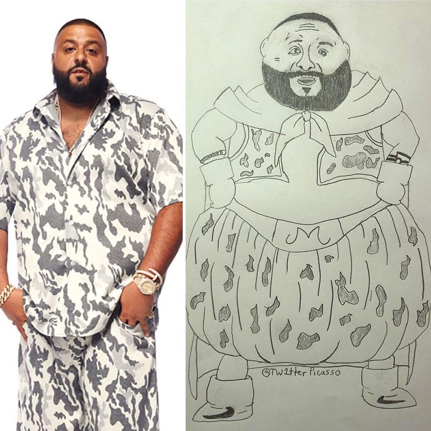 Dj Khaled Fan Art