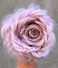 Braided Rose Hairstyle Is The Hottest New Trend And