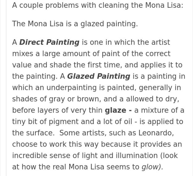 art-painting-restoration-mona-lisa-tumblr-post-8 People Won't Stop Demanding The Mona Lisa To Be Cleaned, So Someone Just Explained What Would Happen Art Design Random