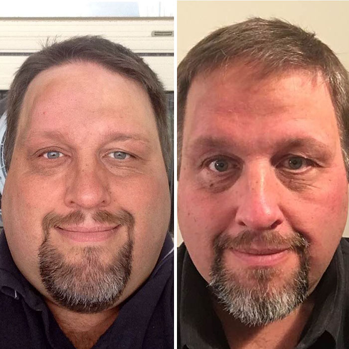 before-and-after-weight-loss-tony-bussey-fort-mcmurray-alberta-canada-1-5ac36dc086fd6__700 Obese Dad Finds Out He Needs 2 Seats On Evacuation Flight, Transforms His Body Beyond Recognition In 2 Years Design Random