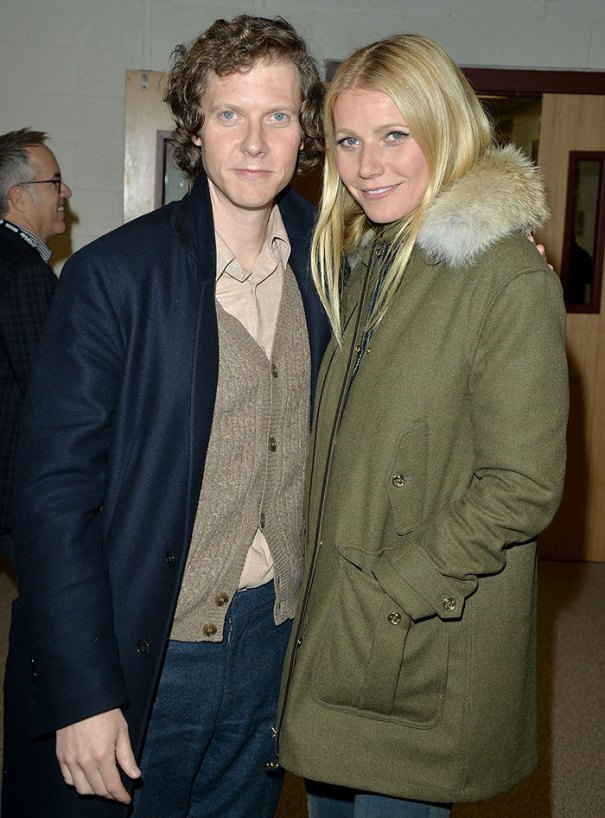Gwyneth Paltrow With Her Little Brother Jake