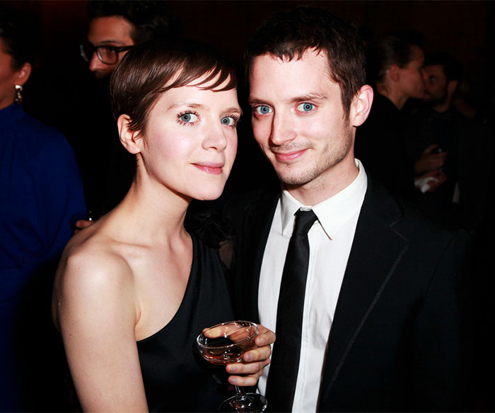 Elijah Wood With His Younger Sister Hannah