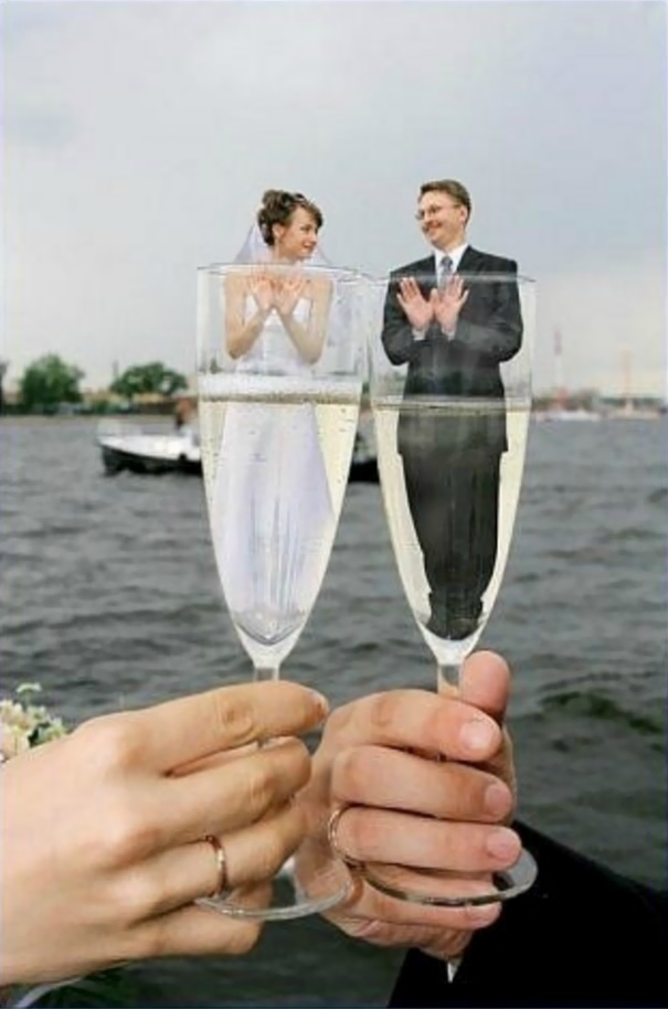 Toast To A Perfect Marriage