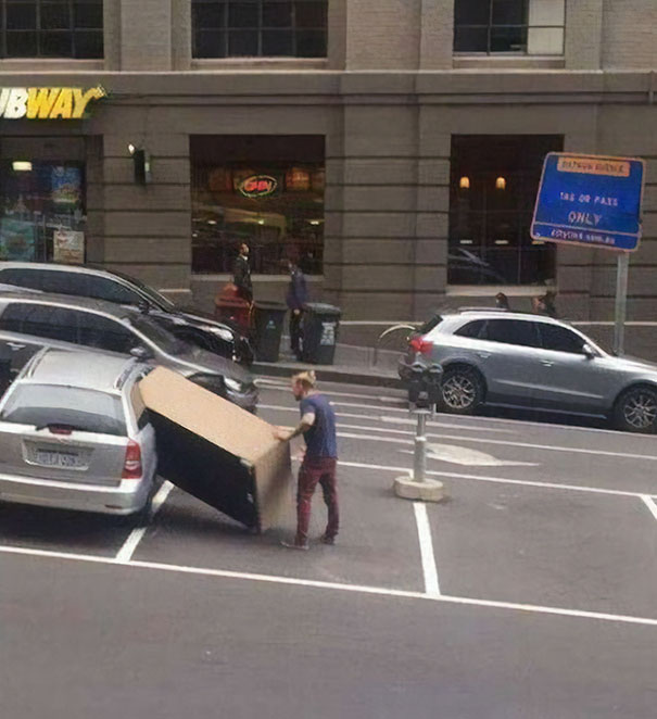 Just Keep Pushing Bro, It Will Fit
