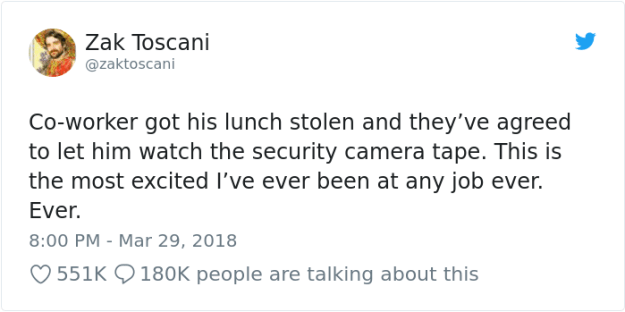 stolen-office-lunch-shrimp-fried-rice-zak-toscani-1 Guy's Lunch Gets Stolen At Work So He Asks To See The Security Tape, Can't Believe His Eyes Design Random