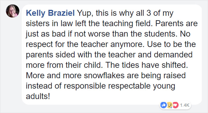 teacher-blames-parents-disrespectful-students-julie-marburger-texas-17-5ac71fa910dc7__700 This Teacher Had Enough Of The BS Parents And Kids Give Her, So Before Quitting She Posted This Epic Rant Online Design Random
