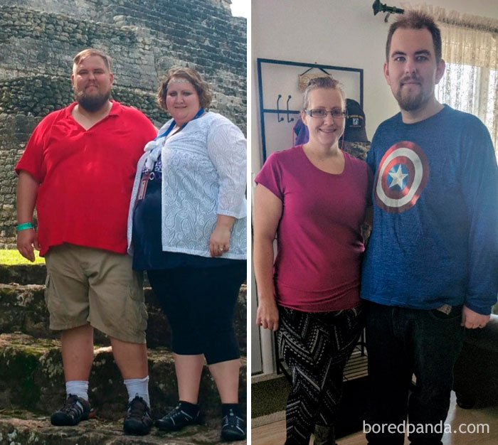 Through Thick And Thin. Together My Wife And I Have Lost 315 Lbs