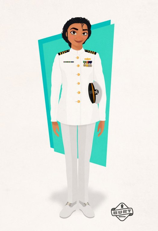 Moana: Navy Officer