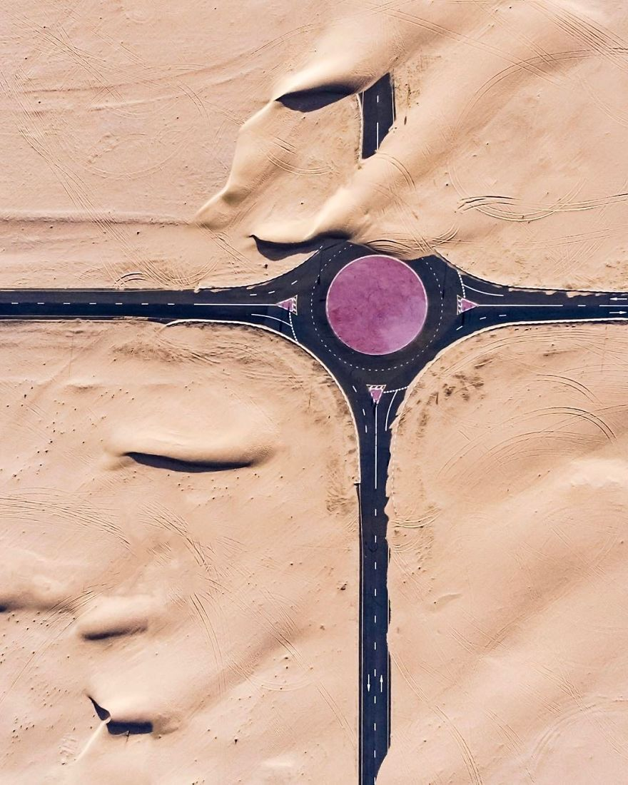 Purple Roundabout (Dubai, United Arab Emirates)
