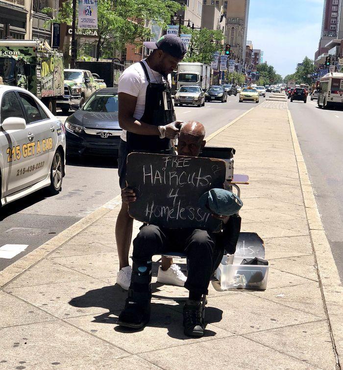 Capturó esta leyenda en Filadelfia hoy. Fuente simple y desinteresada