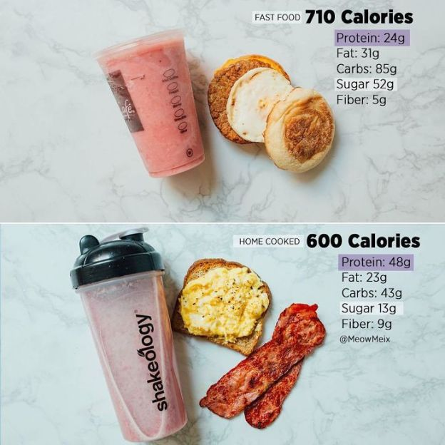 BSMVwLzhCOb-png__700 Woman Shows How Easy It Is To Lose Weight By Making 20+ Genius Food Swaps Design Random
