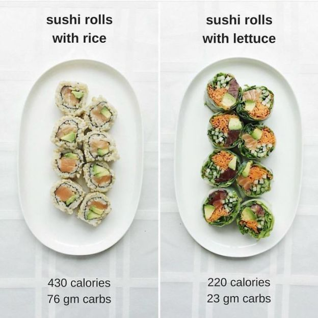 BjGXGcGHI1g-png__700 Woman Shows How Easy It Is To Lose Weight By Making 20+ Genius Food Swaps Design Random