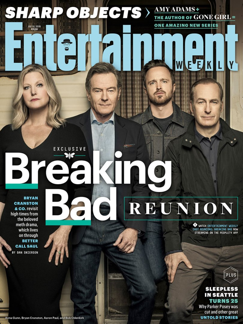 breaking bad anniversary 10 year cast reunion photoshoot 15 5b3609b919c2f  880 - Elenco de Breaking Bad comemora 10 anos da série em grande estilo