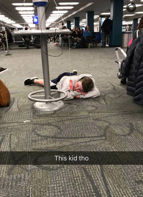 This Kid Is Living In 3018
