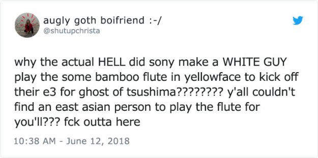 girl-accuses-sony-cultural-appropriation-shakuhachi-bamboo-flute-cornelius-boots-9-5b275c91d9d09__700 Woman Accuses Sony Of Insulting Japanese Culture By Hiring A White American In Japanese Clothes, Doesn't Expect This Reply Design Random